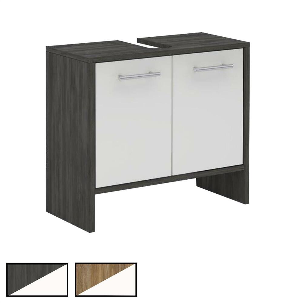 waschbecken unterschrank waschtischunterschrank badschrank k che 62 cm breit ebay. Black Bedroom Furniture Sets. Home Design Ideas
