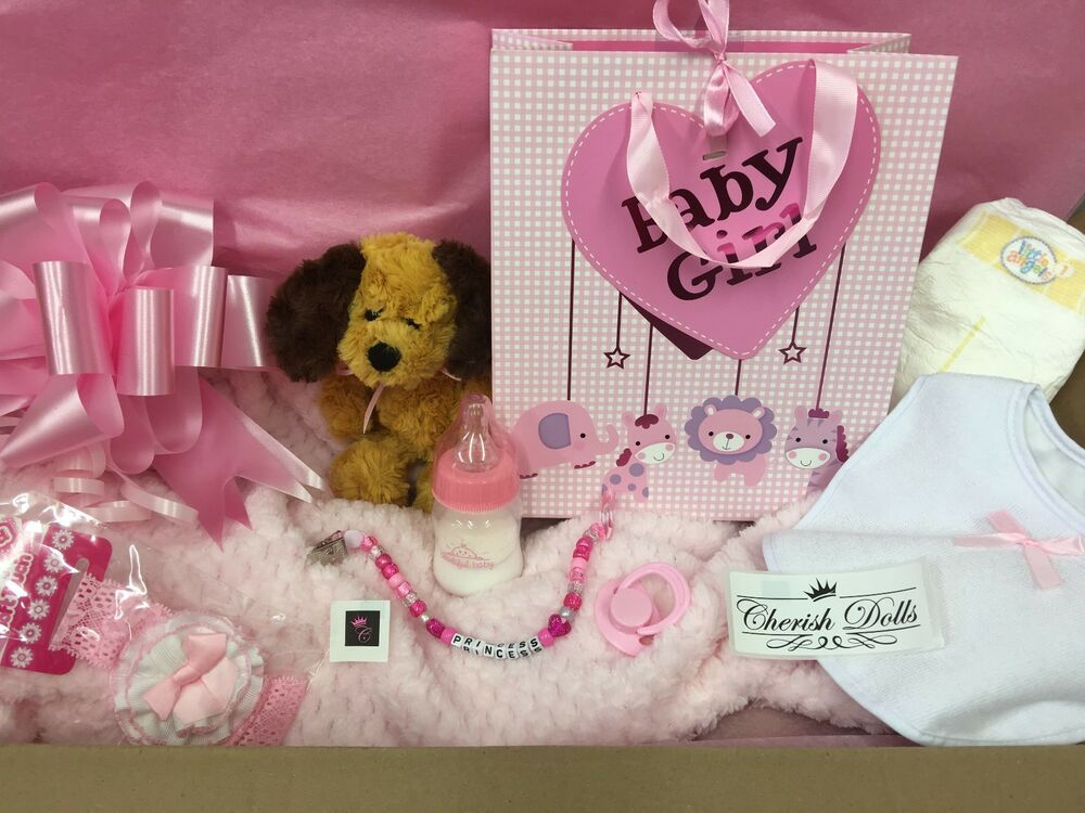 Reborn Doll Baby Diy Box Opening Gift Set Uk As Seen On