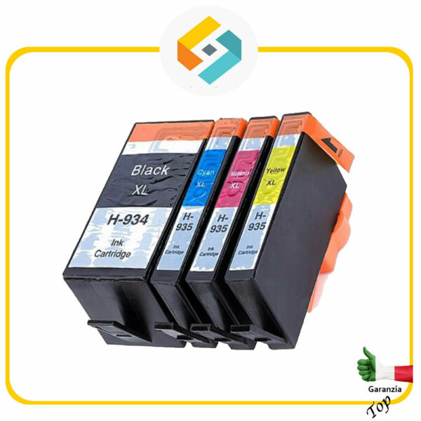 CARTUCCE COMPATIBILI PER HP 934 HP 935 XL OfficeJet Pro 6230 6800 6820 6830