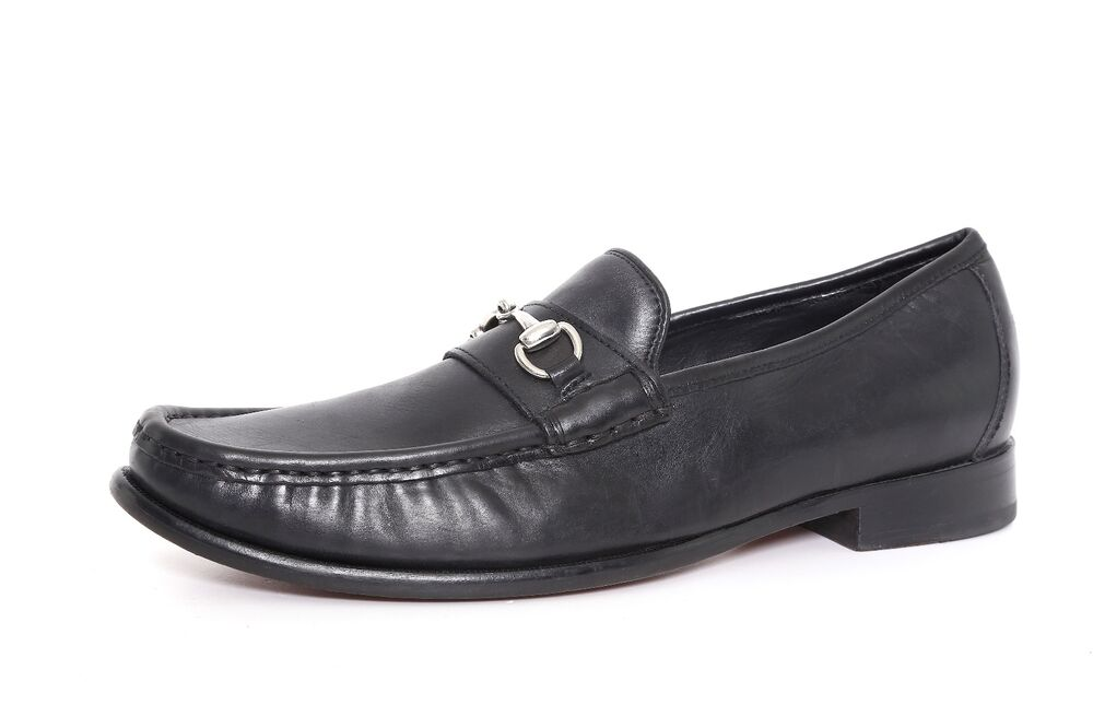 bbac227a00e Details about Cole Haan Men s Black Leather Air Aiden Bit Loafers 1153 Sz  8.5 M