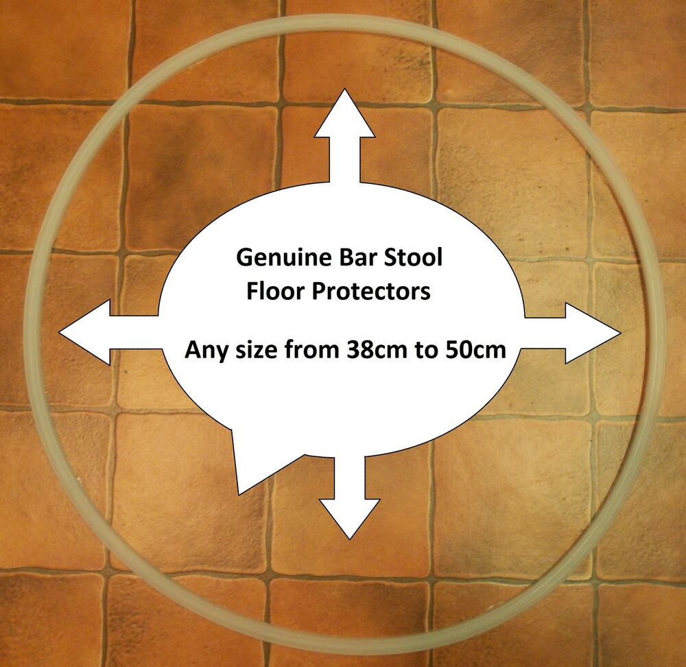 Bar Stool Floor Protector Rubber Plastic Ring Gasket