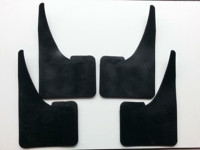 Rubber mudflaps splash guards contour fits mercedes m ml for Mercedes benz ml350 mud flaps