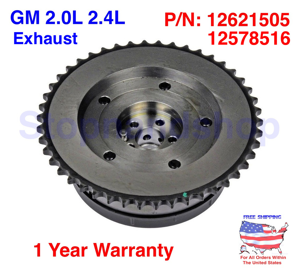 Variable Valve Timing Sprocket Actuator VVT EXHAUST Cam