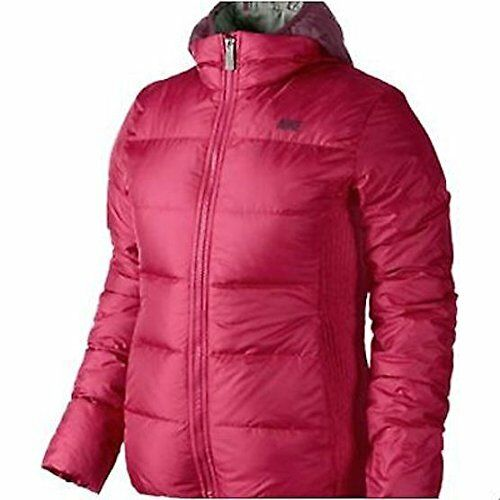 8a925a99148f Details about Nike Women s Alliance Jacket 550 Down Jacket   Hooded Vest -  XS (541418-604)