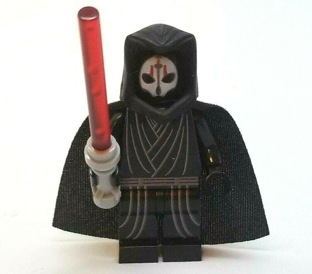 new lego custom printed darth nihilus sith lord kotor star wars minifigure ebay. Black Bedroom Furniture Sets. Home Design Ideas