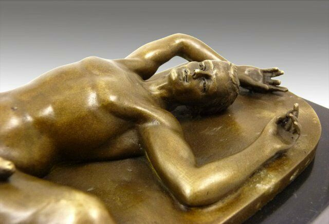 Erotic male sculpture