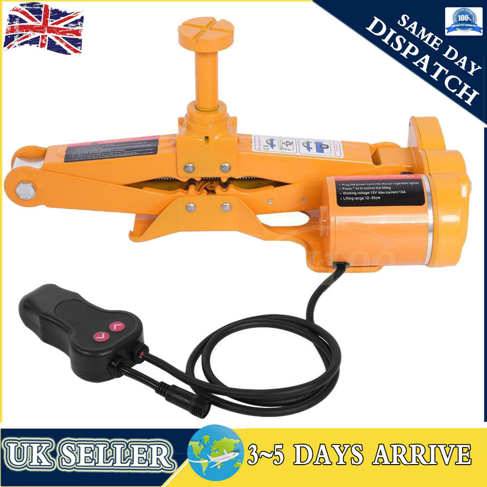 3 Ton Electric Hydraulic Floor Jack 3t Axle Stand Car