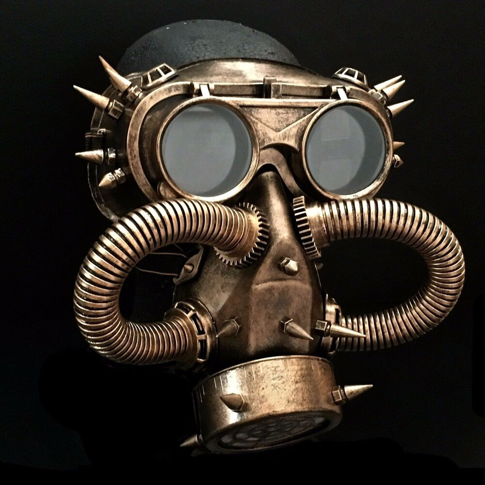 Halloween Steampunk Rivet Vintage Goggles Burning Man Gas ...