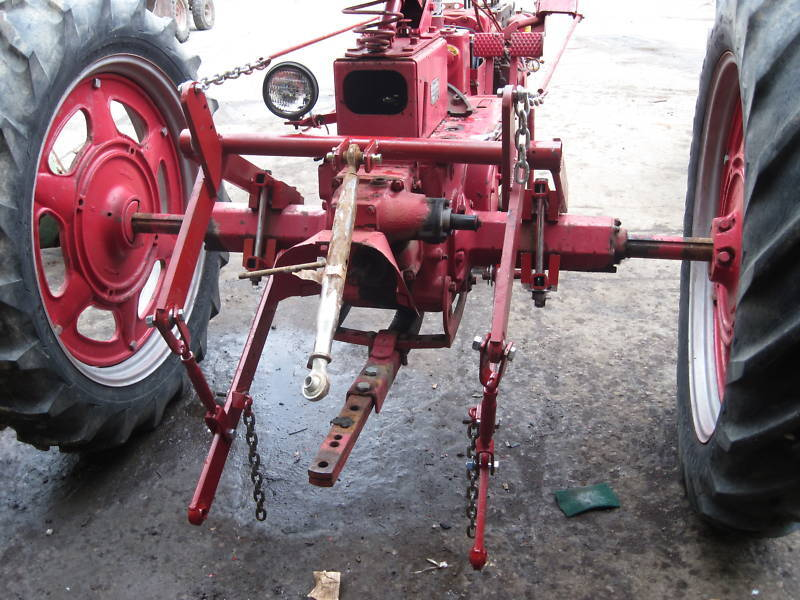 Tractor Hitch Parts : Point tractor hitch for farmall c super