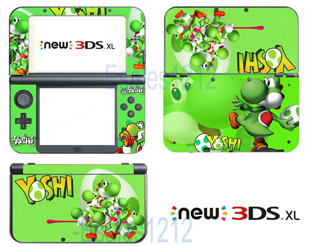 Super Mario Yoshi Cute Vinyl Decals Skin Stickers For Nintendo New