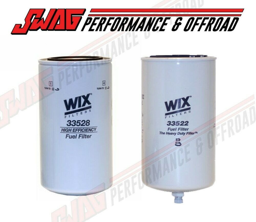Wix Fass Fuel System Replacement Filters For Powerstroke