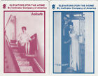 Vintage Swap/Playing Cards - 2 SINGLE - Inclinator adverts with ladies