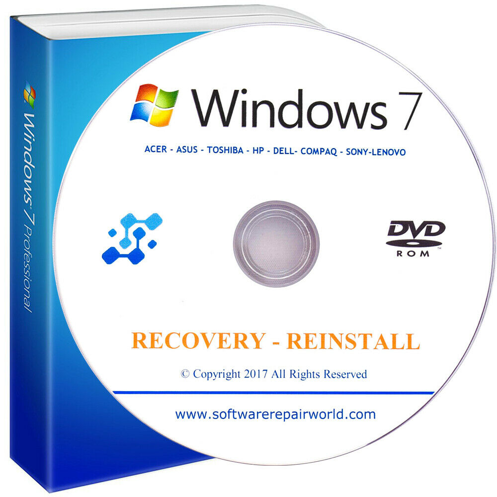 how to make a dell recovery disk in windows 7