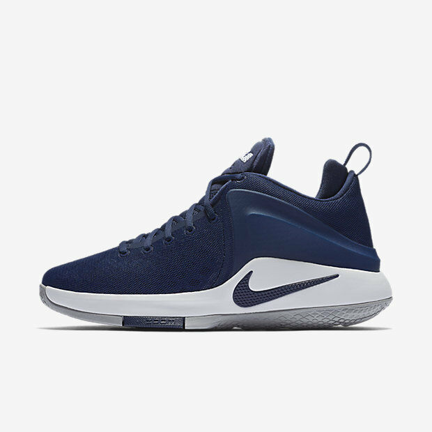 41372117f64 Details about Nike Zoom Witness Midnight Navy Men s LeBron James Basketball  Shoes Size 12