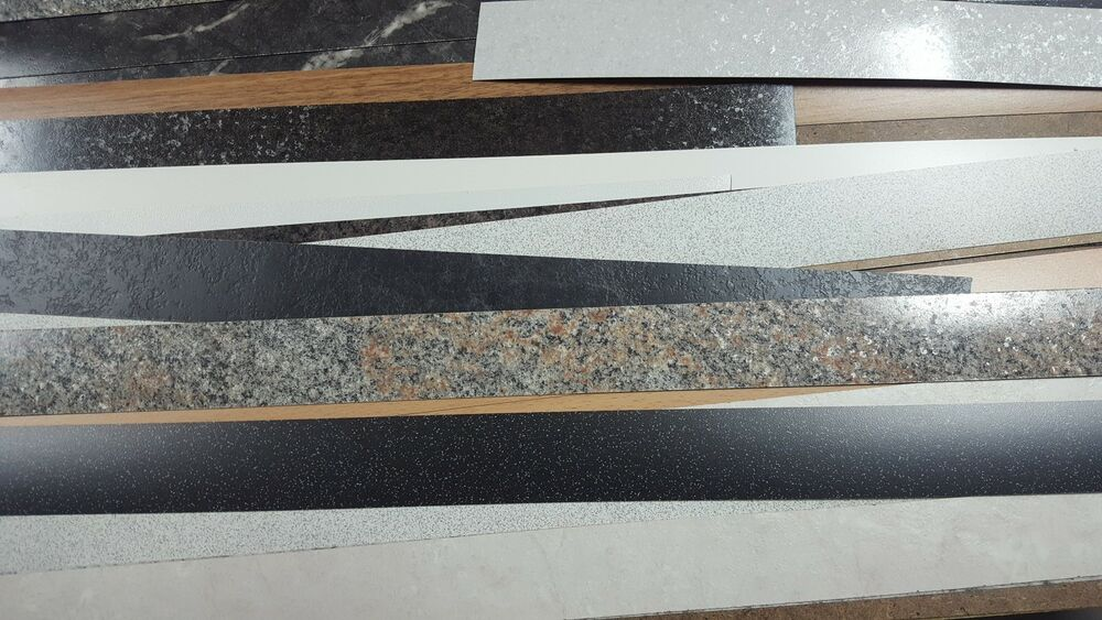 laminate worktop edging strips ex howdens stock 38mm. Black Bedroom Furniture Sets. Home Design Ideas