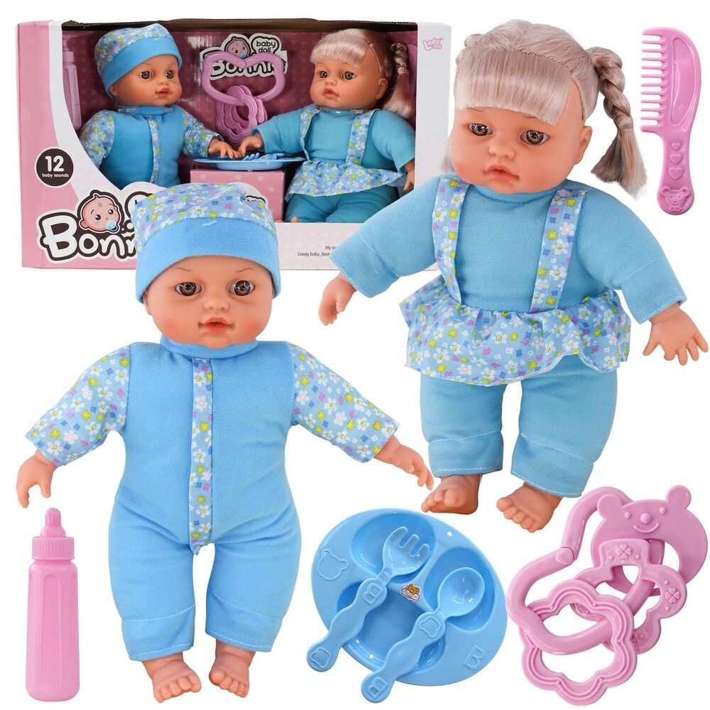 12 Quot Twins Dolls With 6 Sounds Twin Babies Cuddles Baby