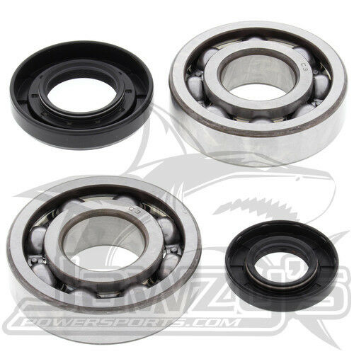 All Balls Racing Crankshaft Bearing Kit 24 1029 For Yamaha