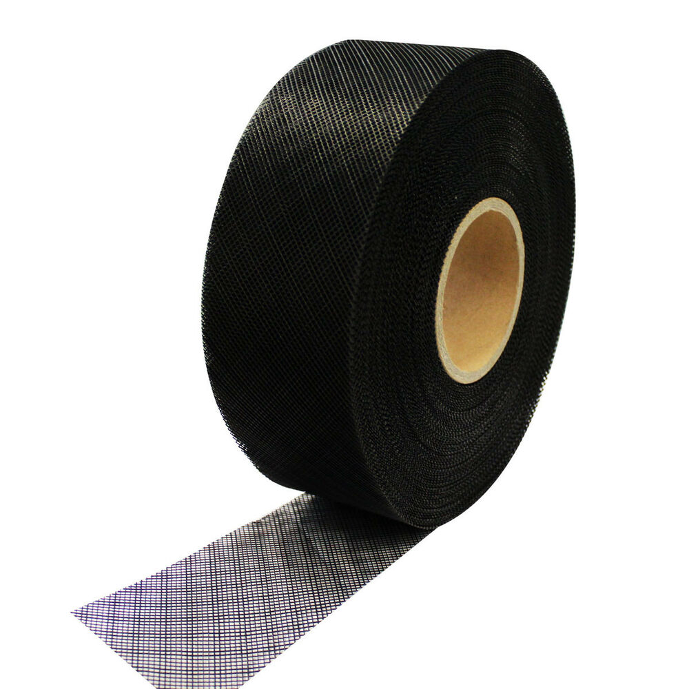 Soffit Vent Mesh 30m Rolls Black Insect Screen 75mm To 300mm Wide Plastic
