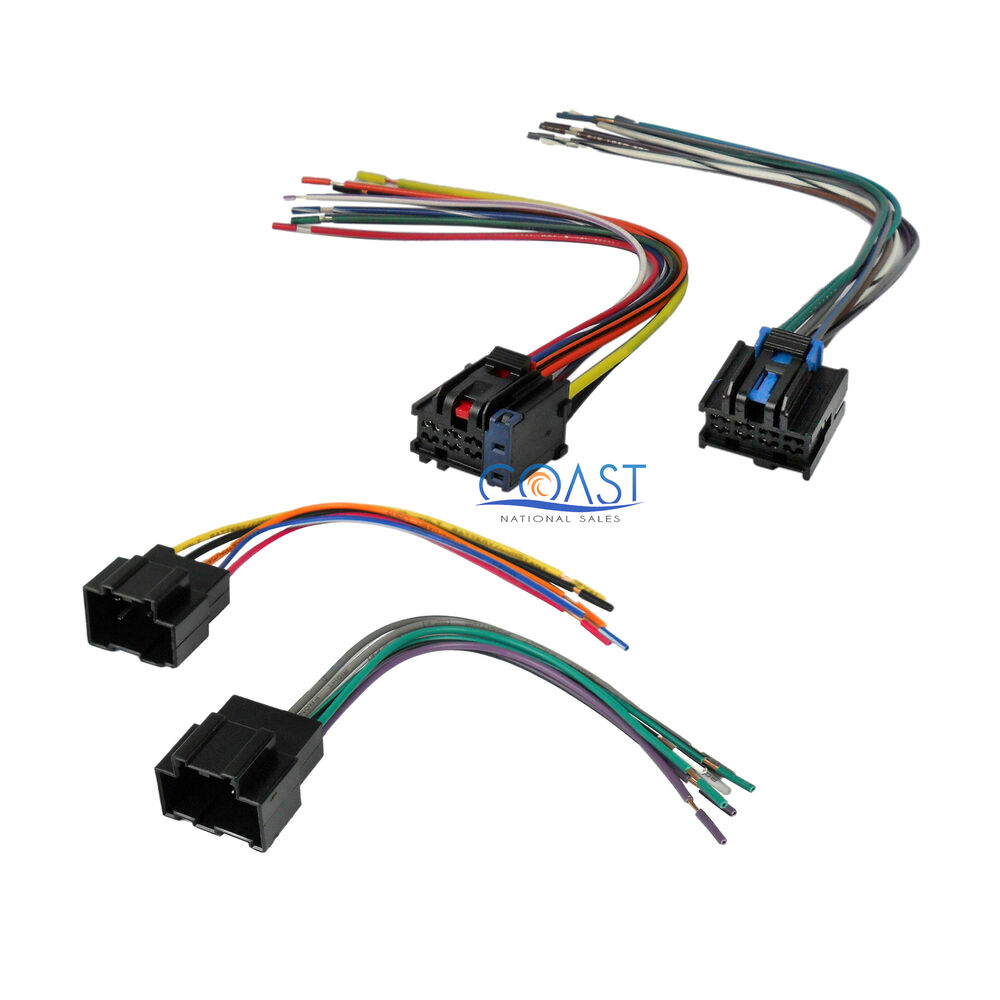 car radio stereo replacement wire harness combo for 2007. Black Bedroom Furniture Sets. Home Design Ideas