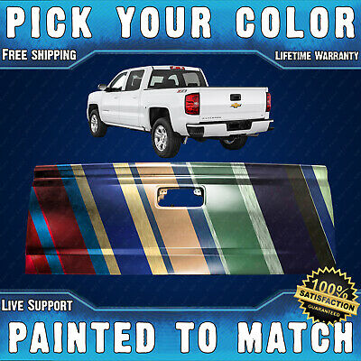 NEW Painted To Match - Steel Tailgate for 2015-2019 Silverado Sierra w/ Assist