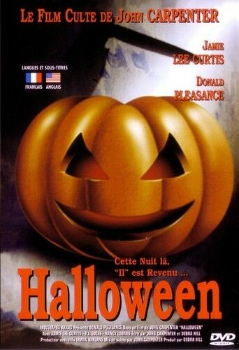 Halloween (de John Carpenter avec Jamie Lee Curtis) - DVD