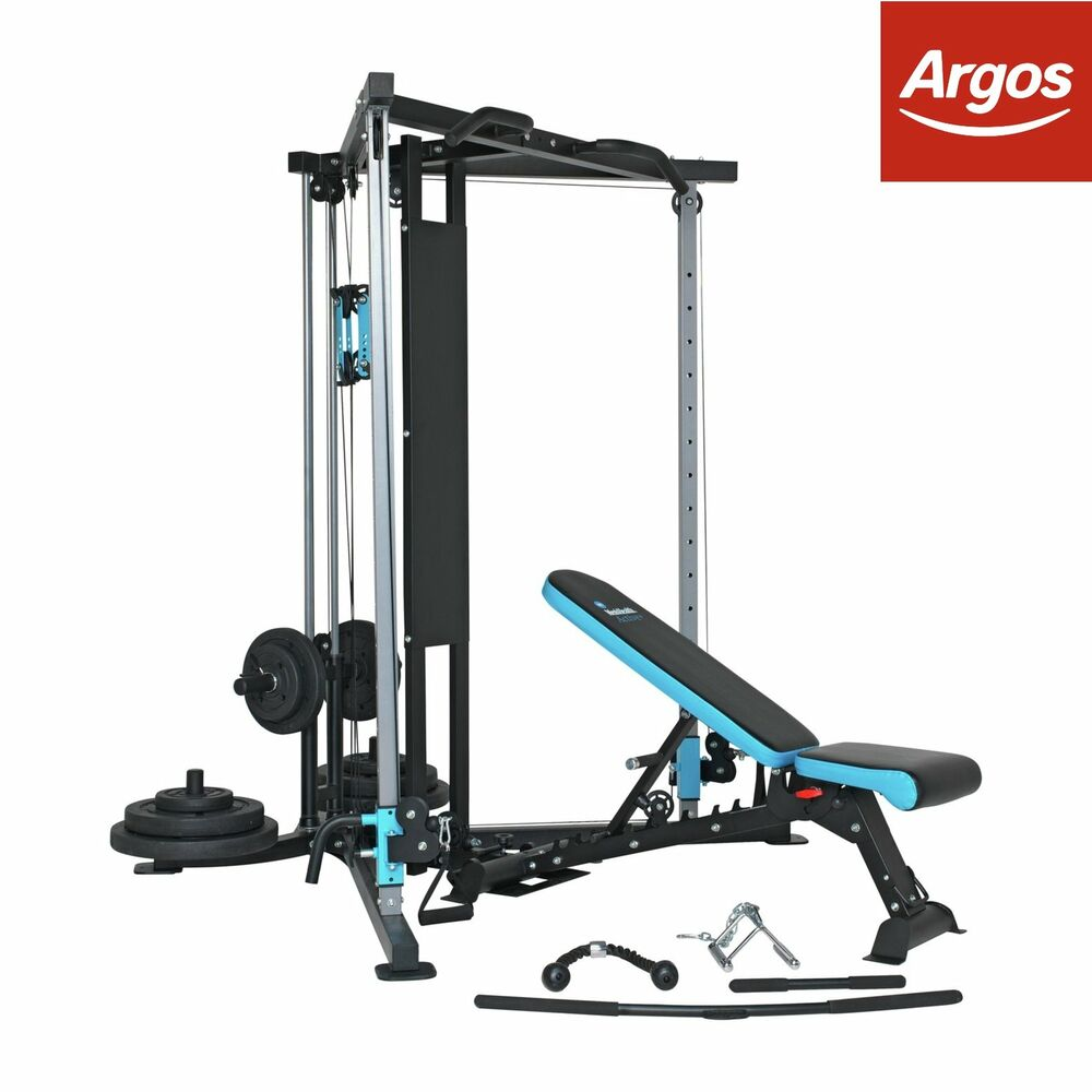 Men\'s Health 90kg Home Multi Gym From the Official Argos Shop on ...