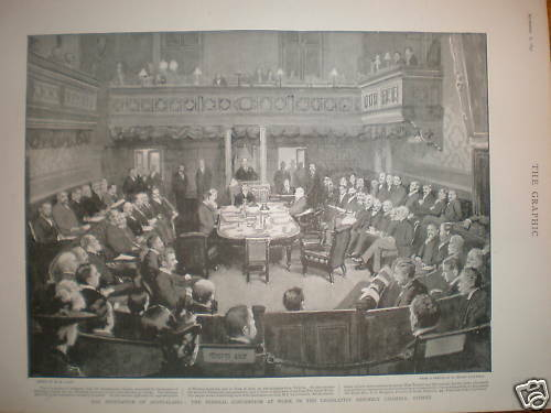 The Federation of Australasia Sydney Convention 1897