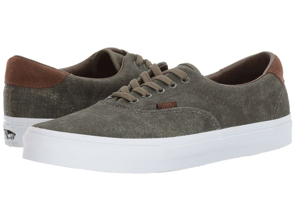 343a4a8bfe Details about Vans ERA 59 (C L) Birds Grape Leaf Washed GREEN Canvas Men  Casual Skate Shoes