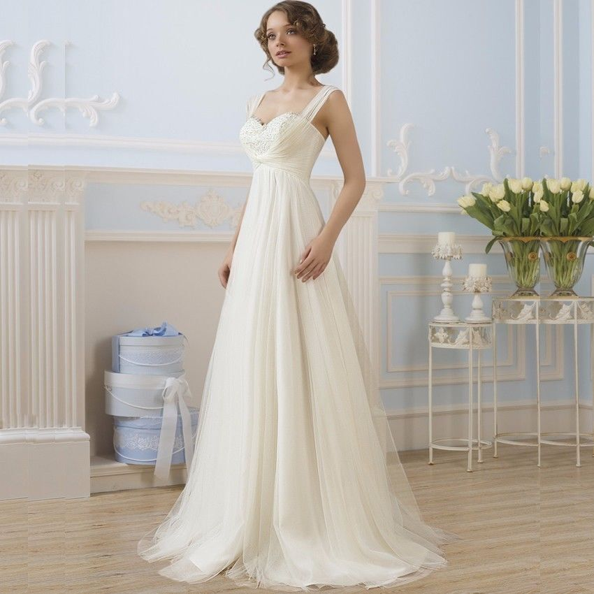 Cheap Maternity Wedding Dress For Pregnant Bridal Gown Under 100