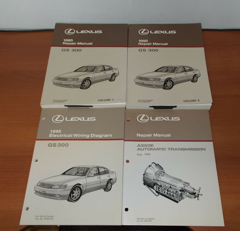 1995 LEXUS GS300 REPAIR MANUAL ELECTRICAL WIRING DIAGRAM AUTOMATIC  TRANSMISSION | eBay