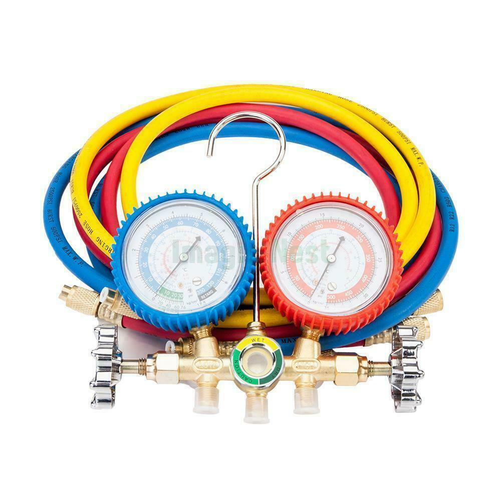 Manifold Gauge Hose Air Conditioner Refrigerant