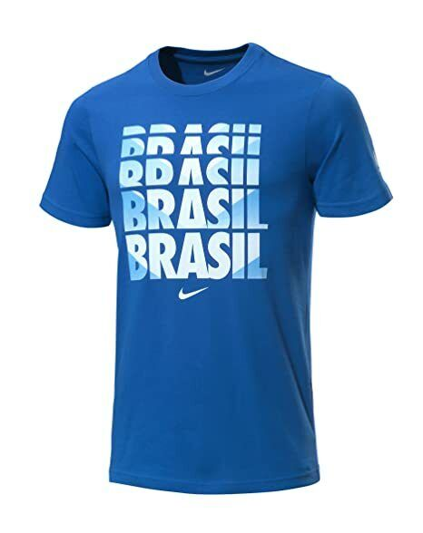 Details about Mens NIKE BRASIL T- Shirt Size Small. DRI FIT 2849fcf611dc0