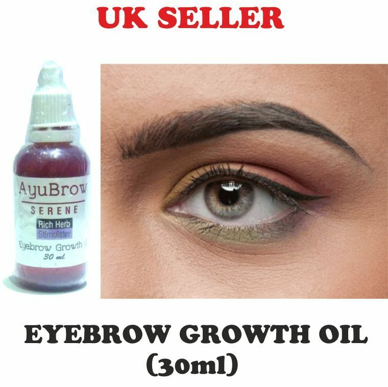 Eyebrow Rapid Growth Oil Thicker Longer Brows Regrow For Thin Brow