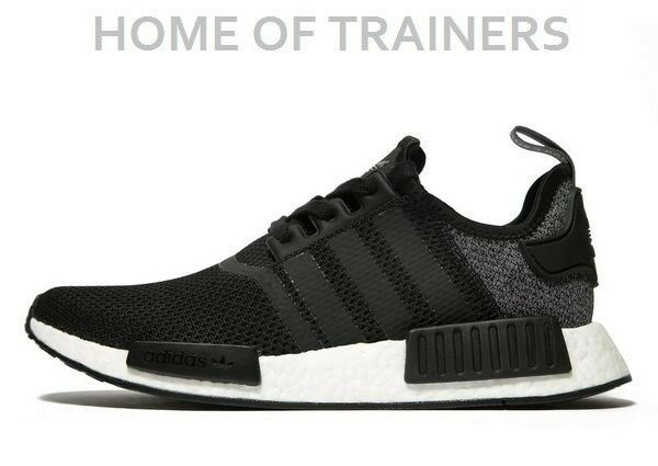 5372cf276a73f Details about adidas Originals NMD R1 Black Men s All Sizes