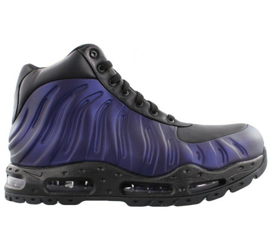 timeless design 0c94a 868a2 Details about New Nike Air Max Foamdome Boot EggPlant Foamposite  Free  Shipping