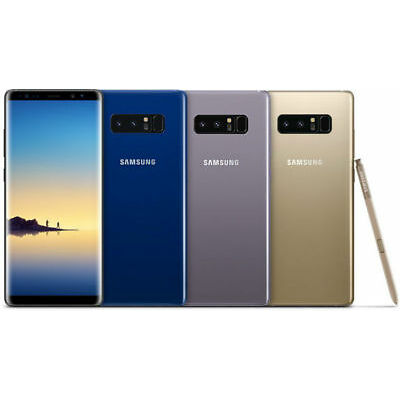 "New Imported Samsung Galaxy Note 8 Single Sim 64gb 6gb 6.3"" 12mp 8mp- Mix Color"