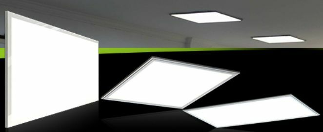 led licht deckenleuchte extra hell 30x120cm 60x60 6500k dimmbar panel rahmen ebay. Black Bedroom Furniture Sets. Home Design Ideas