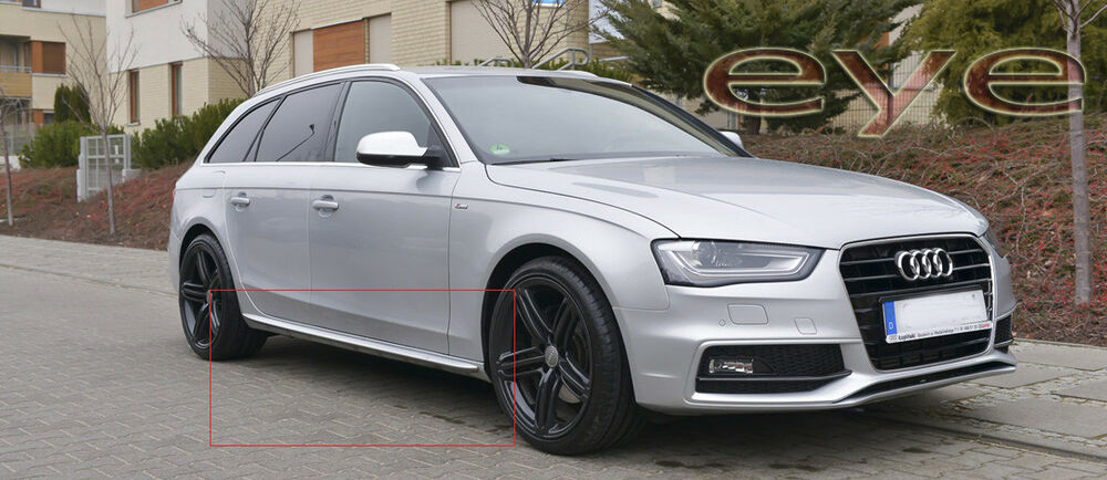 Audi A4 B8 Rs4 S4 S Line Look Side Skirts Side Bar New Ebay