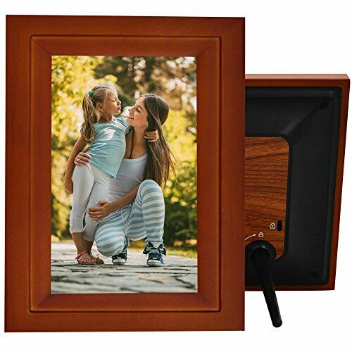 icozy digital touch screen 10 picture frame with wi fi dw10pf1 r - Wifi Picture Frame