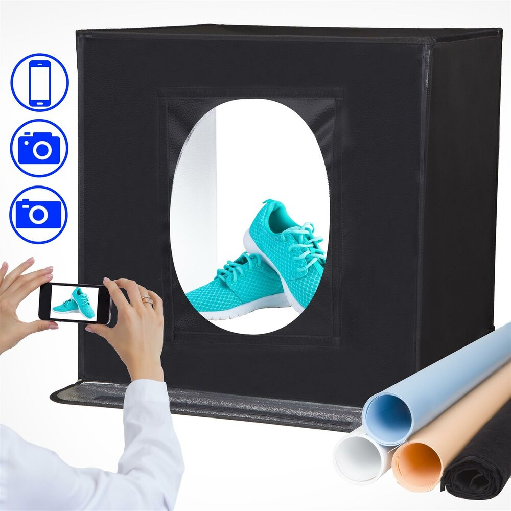 Portable Product Photography Studio With Lighting: Portable Product Photography