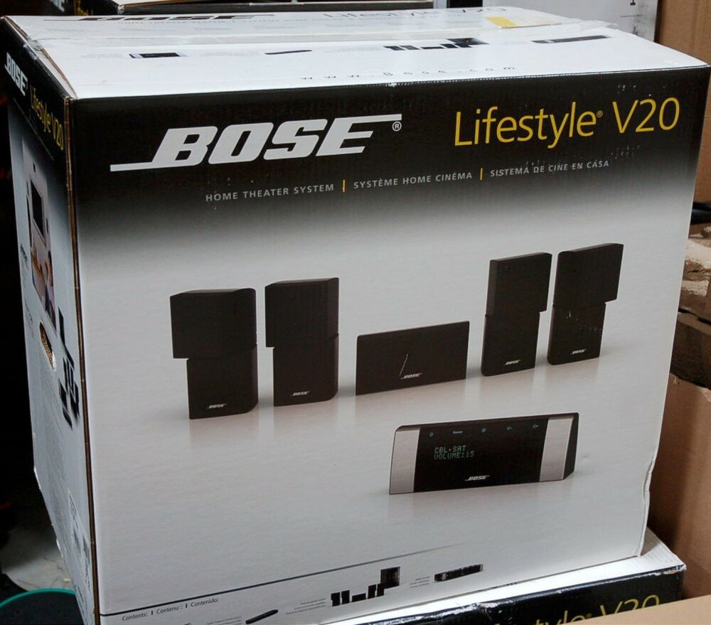 bose lifestyle v20 hdmi home theater 5 1 speaker system set surround rh ebay co uk bose lifestyle 20 music system user manual bose lifestyle 20 music system user manual