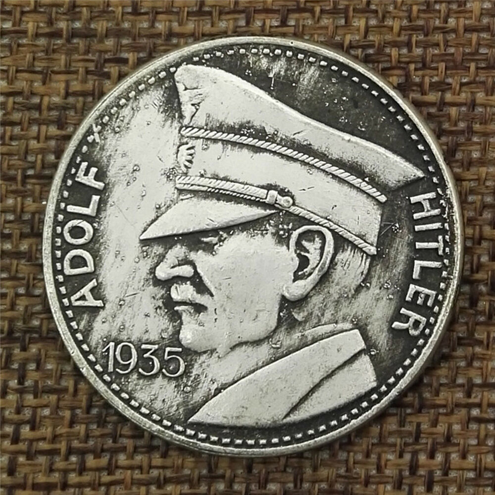 1935wwii German Coin Adolf Hitler World War Drittes Reich Nazi Münze