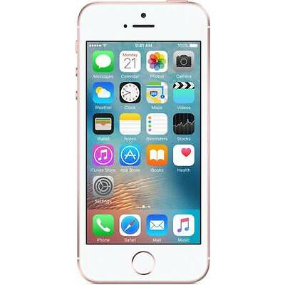 Apple Iphone S E 32gb Rose Gold + 1year Apple India Warranty