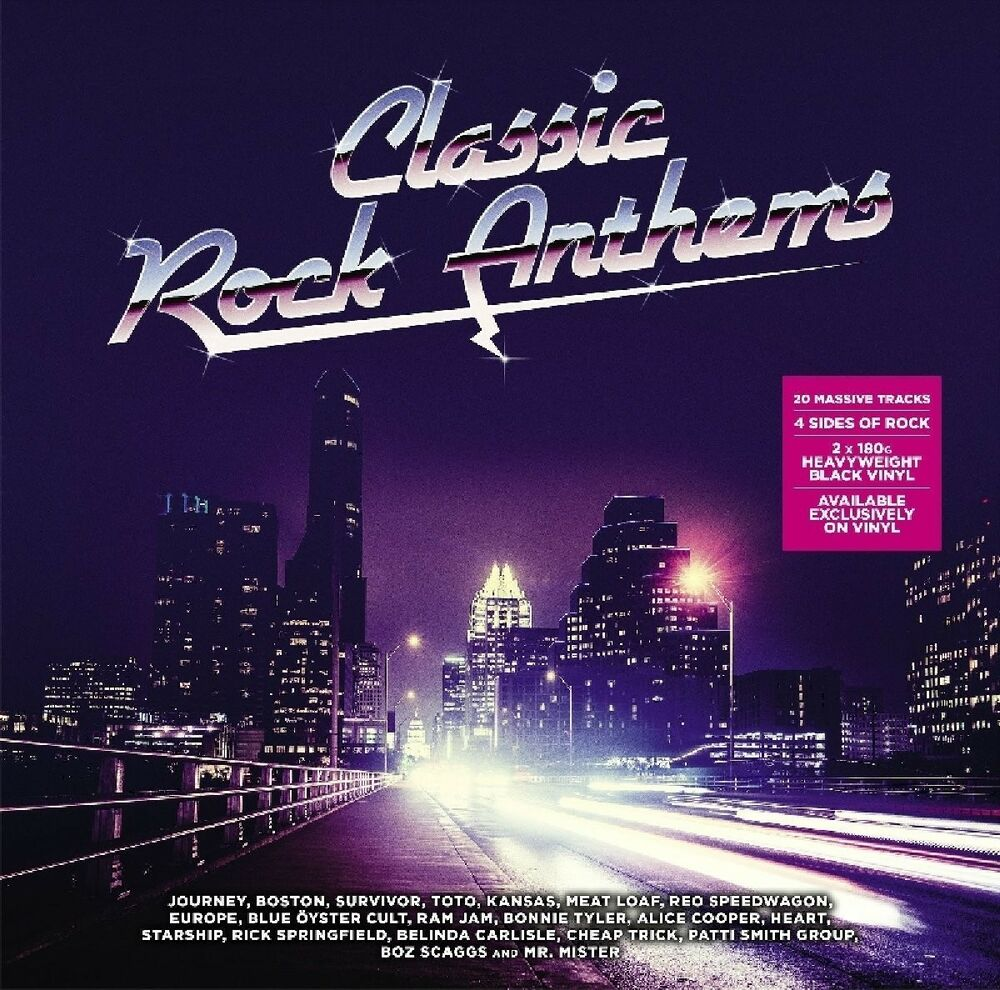 CLASSIC ROCK ANTHEMS (ALICE COOPER, EUROPE, MEAT LOAF, TOTO,...) 2 ...