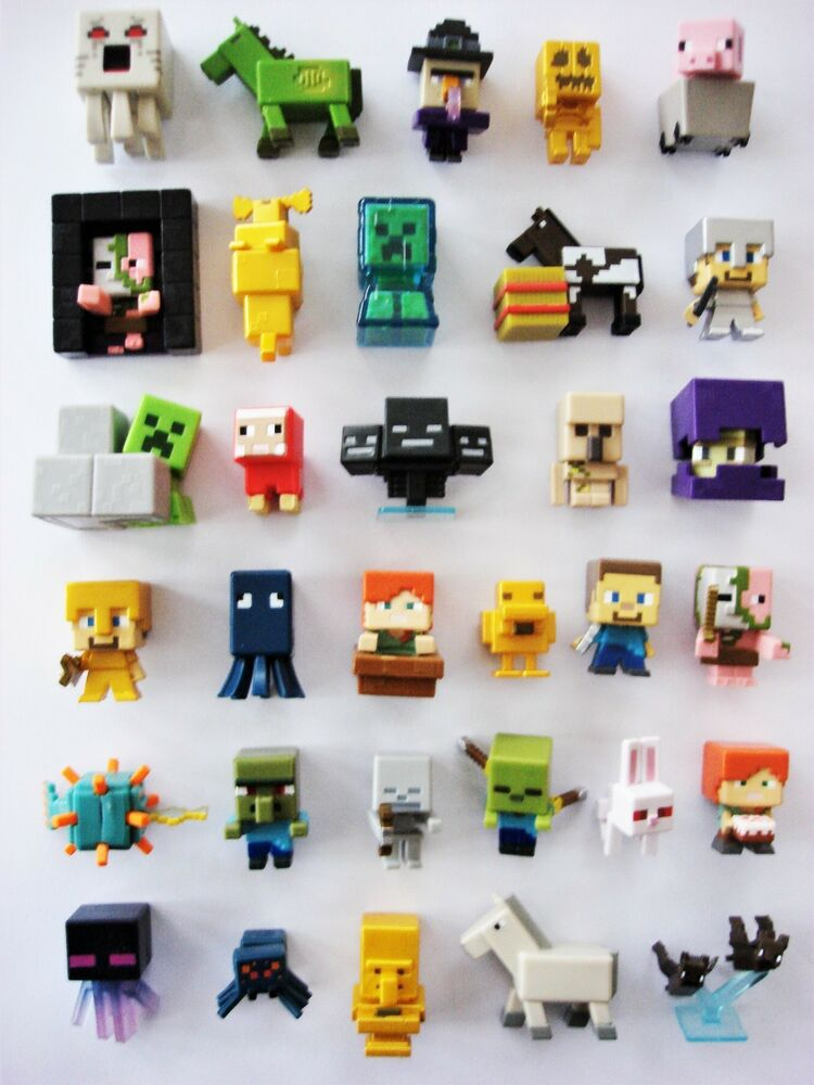 Minecraft Mini Figures Unlimited Chest Series 3 Choose