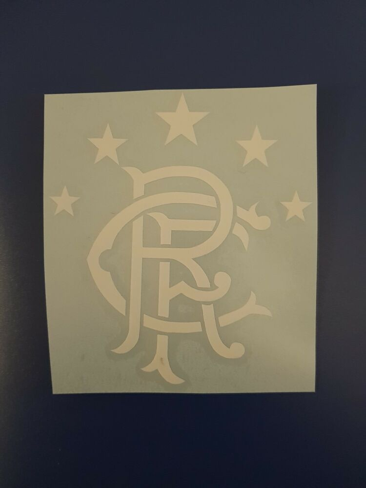 Glasgow rangers f c car window or wall art vinyl sticker large buy 2 get 1 free ebay