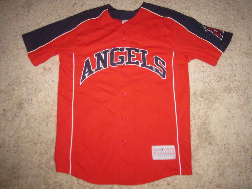 huge selection of 70ef2 ce168 Bobby Abreau  53 LA Anaheim Angels MLB Jersey S Small mens   eBay