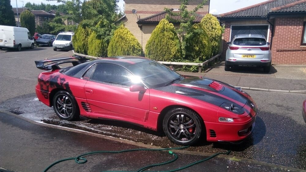 mitsubishi gto twin turbo 3000gt show car 328 bhp 12k. Black Bedroom Furniture Sets. Home Design Ideas