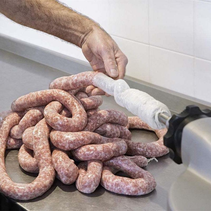 giuseppes sausage case analysis Sausage links are a mixture of a ground meat, fat, seasoning, and sometimes fillers that is packed into a casing and then tied or twisted at intervals to traditionally, link sausage is stuffed into natural casings made from the intestines of animals, but artificial casings are also available on the market.