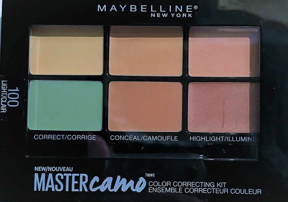 Facestudio Master Camo Color Correcting Kit - Light by Maybelline #17